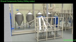 Feeding mineral components